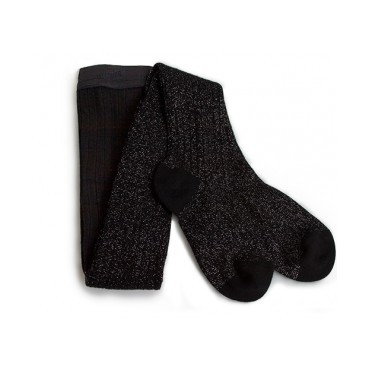 Collants lurex - Noir charbon