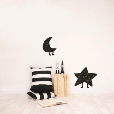 Sticker - Blackboard Star / Moon