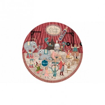 Puzzle My Round Circus (24 pièces)