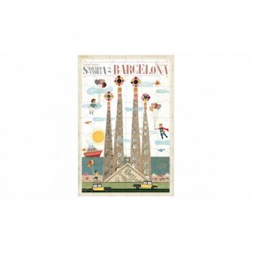 Puzzle Sagrada Familia (54 pièces)