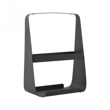 Porte-magazine métal - Noir
