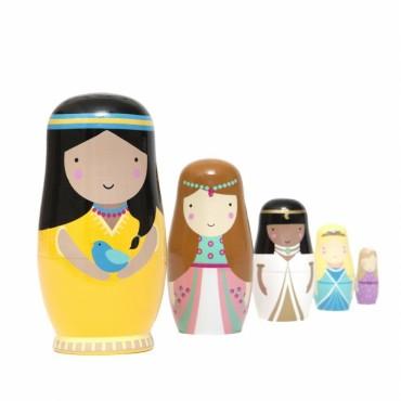 Poupées russes matriochkas - Princesses