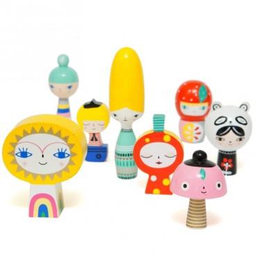 Figurines décoratives - Mr Sun & Friends
