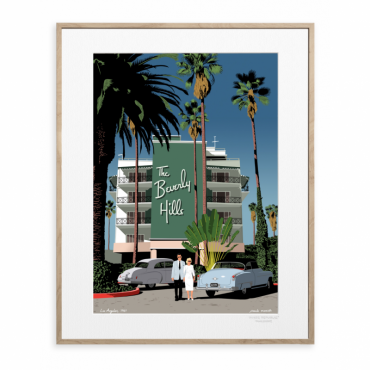 Affiche Paolo Mariotti - Beverly Hills