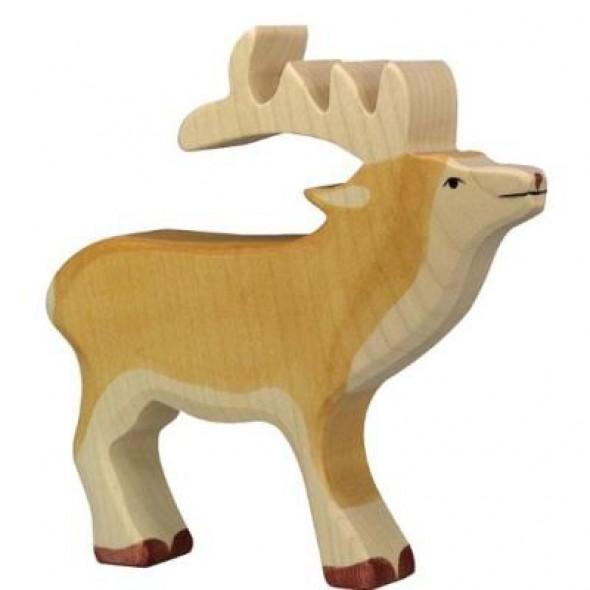 Animal en bois - Cerf