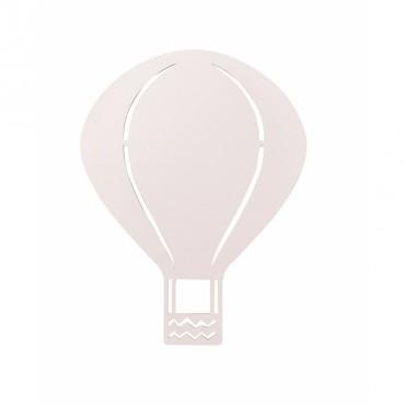 Lampe applique Montgolfière - Rose