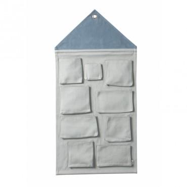 Rangement mural - Maison Bleu