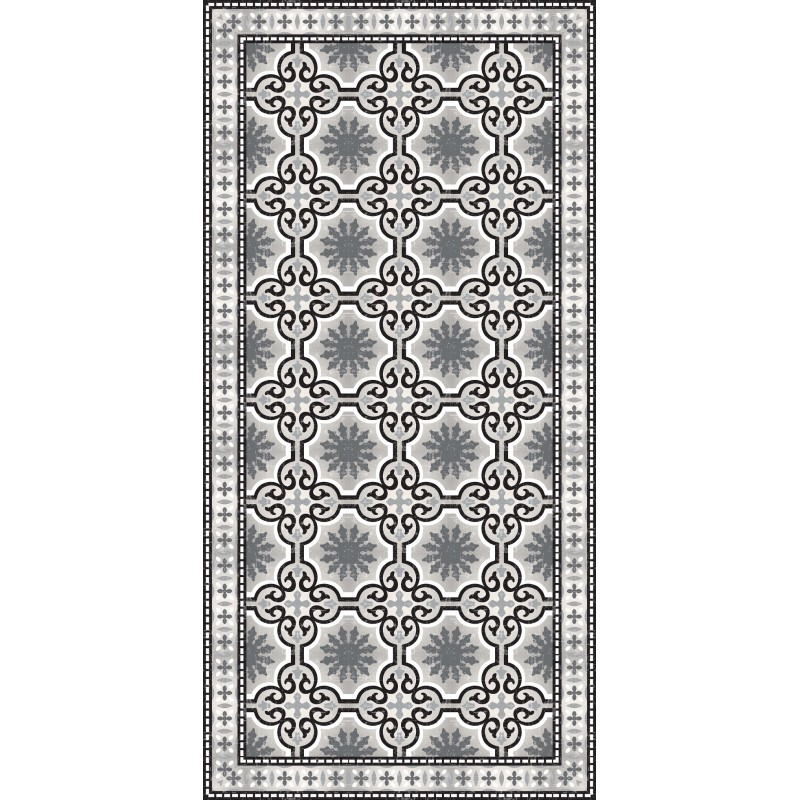 vinyle noir et blanc great tapis grand chiquier vinyle souple cases couleurs noir et blanc case. Black Bedroom Furniture Sets. Home Design Ideas