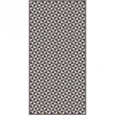 Tapis vinyle Sancu - Noir & Blanc