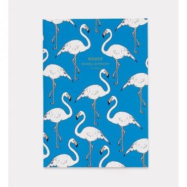 Carnet de notes - Flamingo (A5)