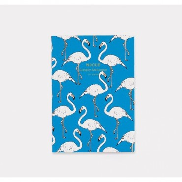 Carnet de notes - Flamingo (A6)