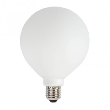 Ampoule Globe E27 - Verre Blanc (100 mm)