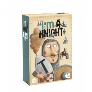 Puzzle I'm a Knight (100 pièces)
