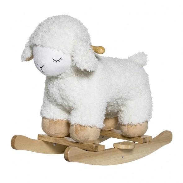 Mouton à bascule - White