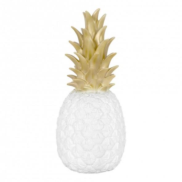 Veilleuse Ananas - Blanc & Or