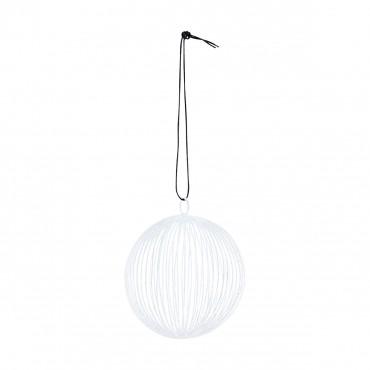 Boule Circle - Blanc (8 cm)