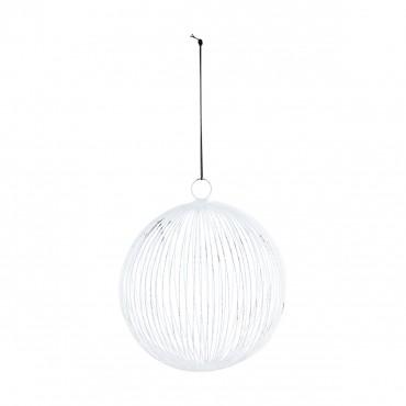 Boule Circle - Blanc (12.5 cm)