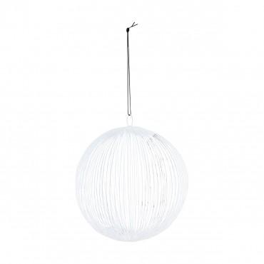 Boule Circle - Blanc (15 cm)