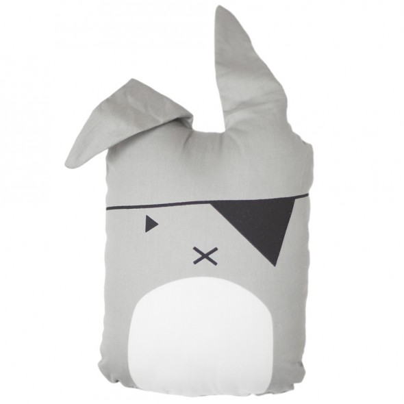 Coussin Animal - Pirate Bunny