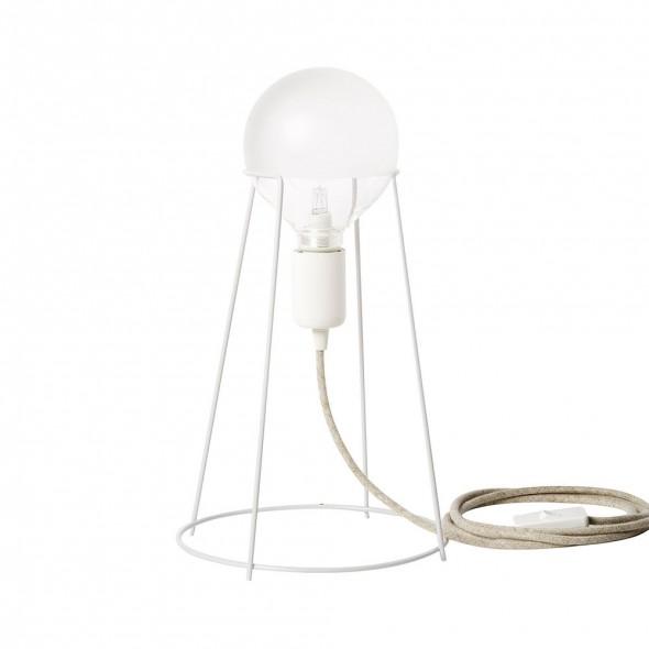 Lampe à poser AGRAFFE - Blanc