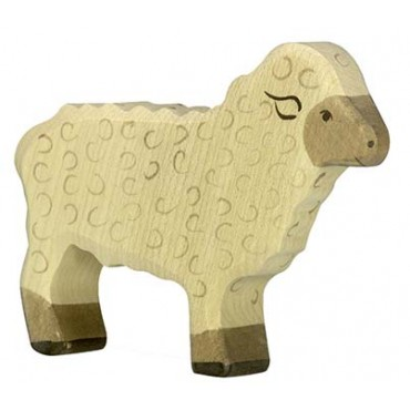 Animal en bois - Mouton