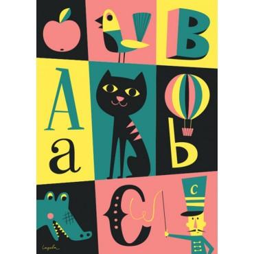 Poster ABC par Ingela P. Arrhenius