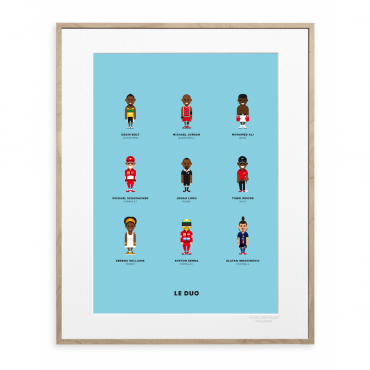 Affiche Le Duo - Sportifs