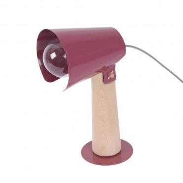 Lampe à poser SISTER - Rouge marsala