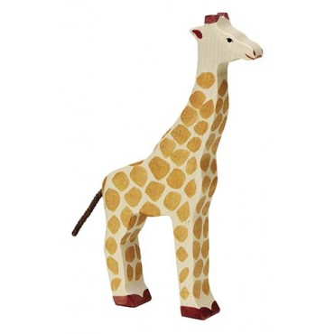 Animal en bois - Girafe