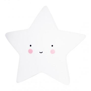 Mini Veilleuse Etoile - Blanc