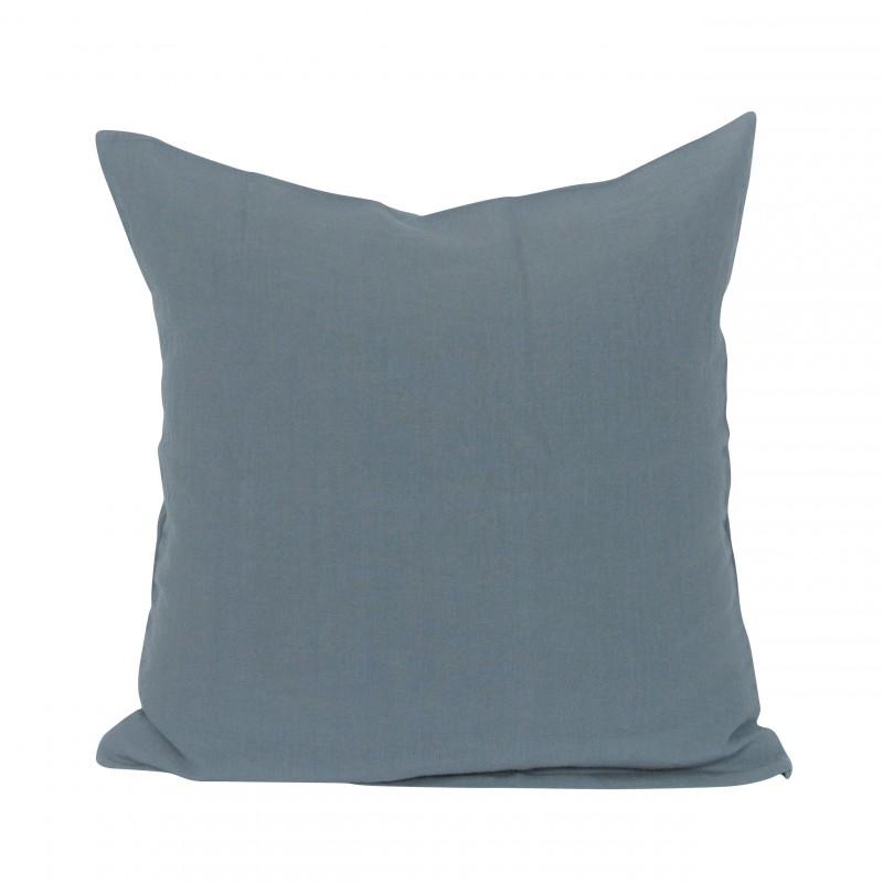 housse de coussin 50x50 bleu canard. Black Bedroom Furniture Sets. Home Design Ideas