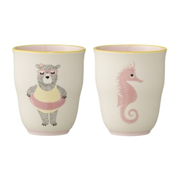 Tasse en porcelaine enfant - Ellie rose
