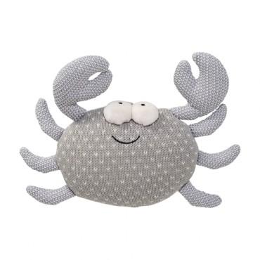 Coussin tricoté - Crabe
