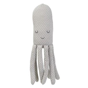 Coussin tricoté - Pieuvre