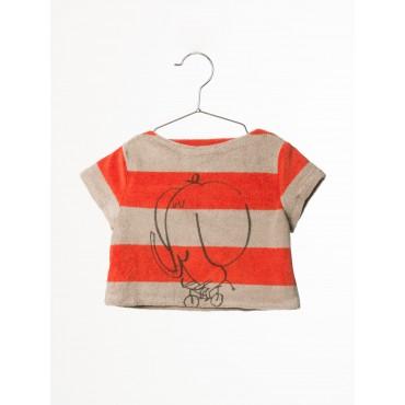 T-shirt bébé éponge - The Cyclist
