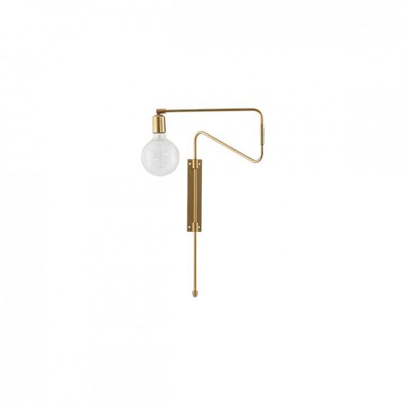 Applique Swing - Doré (longueur 35cm)