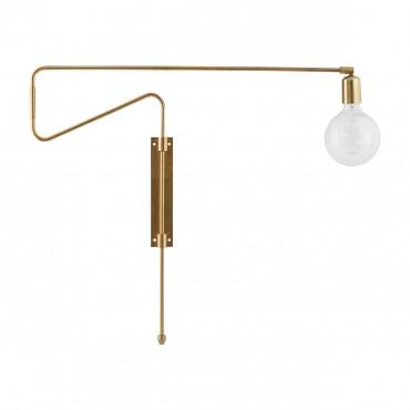 Applique Swing - Doré (longueur 70cm)