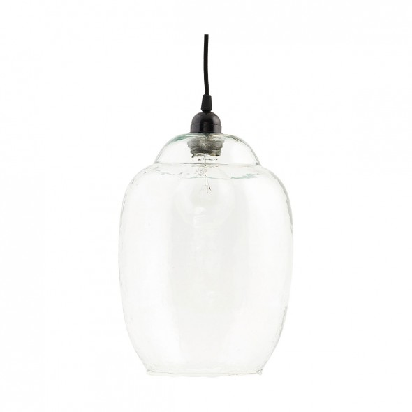 Abat-jour cloche en verre - Transparent