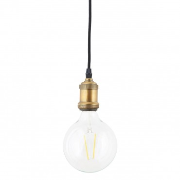 Ampoule Globe Led E27 - Verre Transparent à filament (12.5 mm)