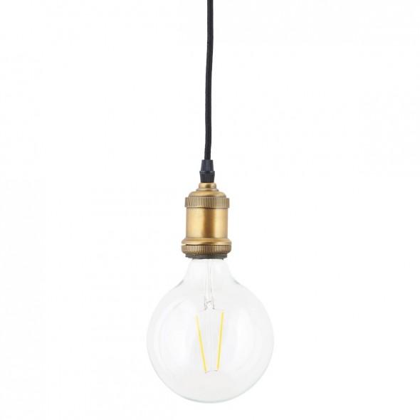 Ampoule Globe Led E27 - Verre Transparent à filament (12.5 mm)