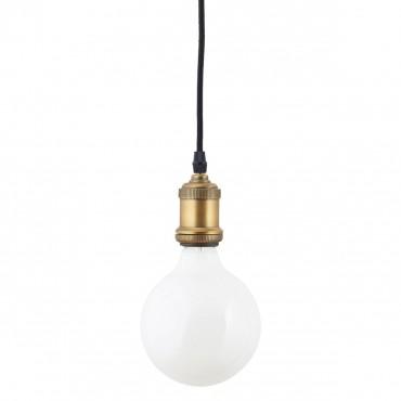 Ampoule Globe Led E27 à filament - Verre Fumé (12.5 mm)