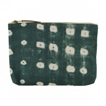 Trousse de toilette - Dots green