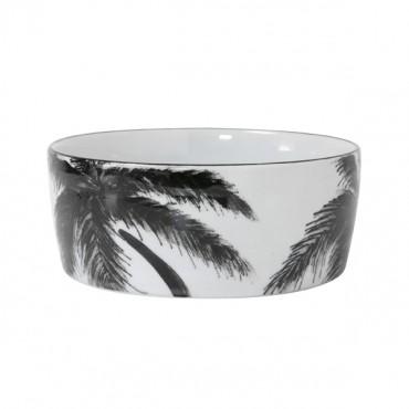 Bol porcelaine - Palms