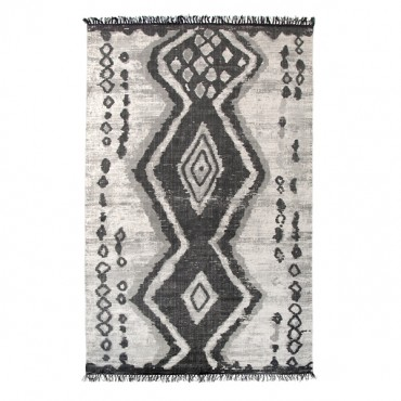Tapis en coton - Impression Boucherouite