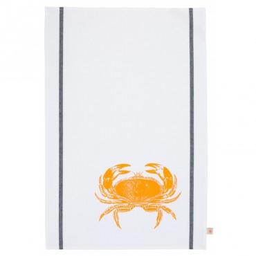 Torchon crabe - Fluo orange