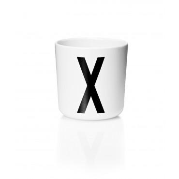 Tasse Mélamine - Lettre X