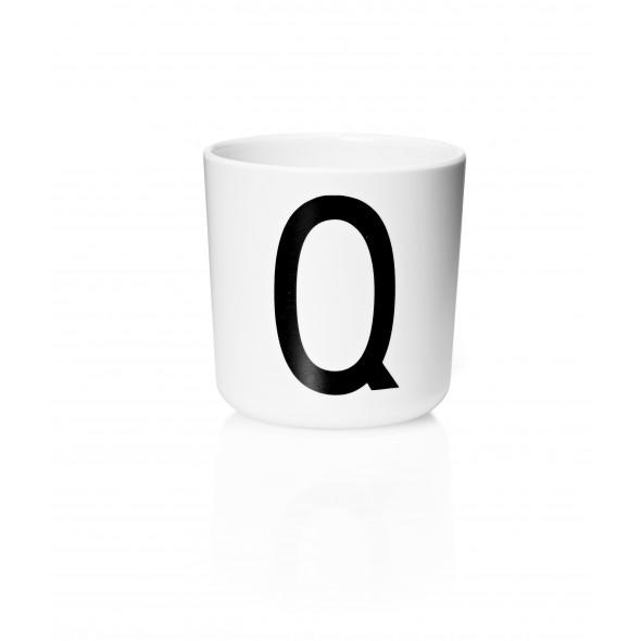 Tasse Mélamine - Lettre Q