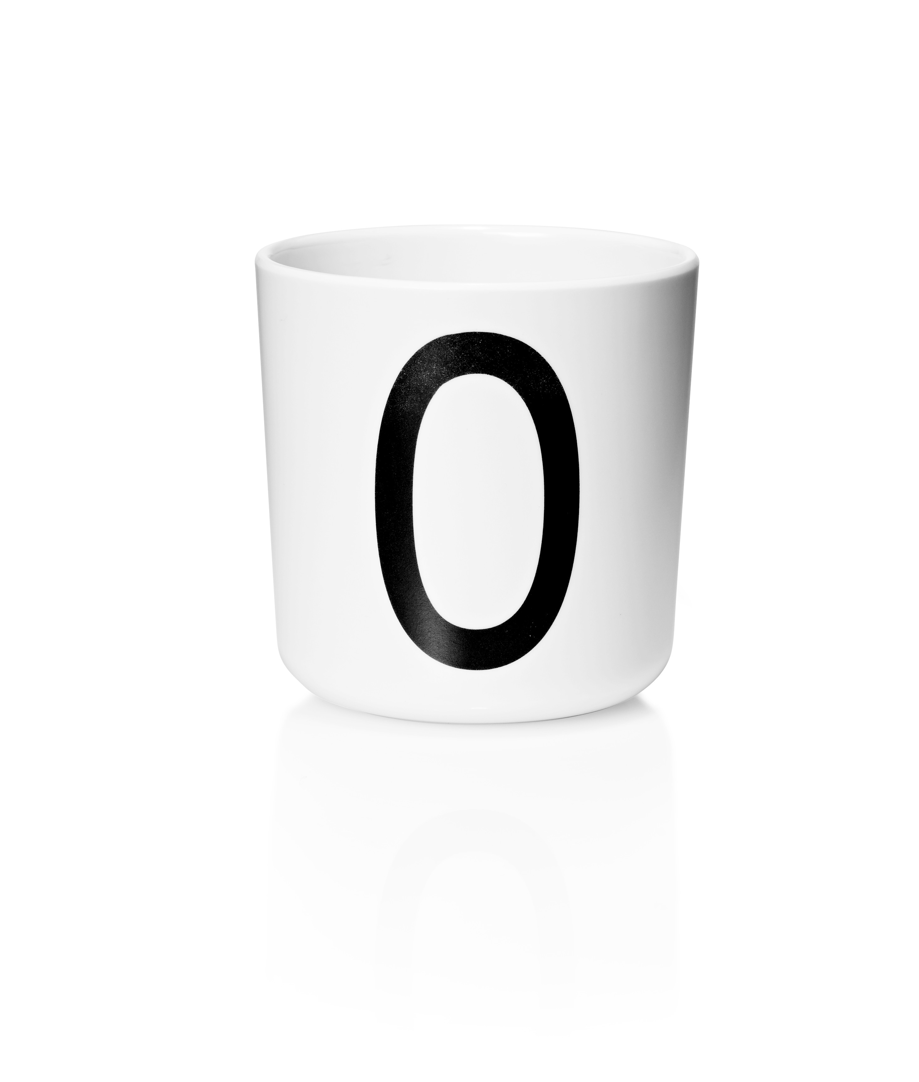 Tasse Mélamine - Lettre O - DESIGN LETTERS - Perlin Paon Paon