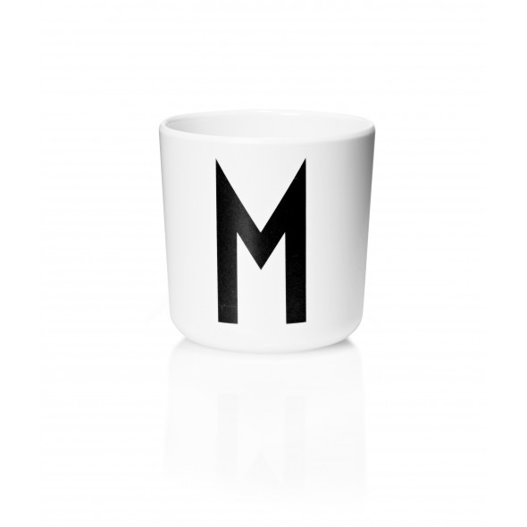 Tasse Mélamine - Lettre M