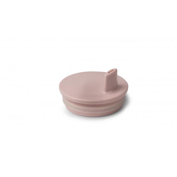 Bec adaptable pour tasse Design letters - Rose